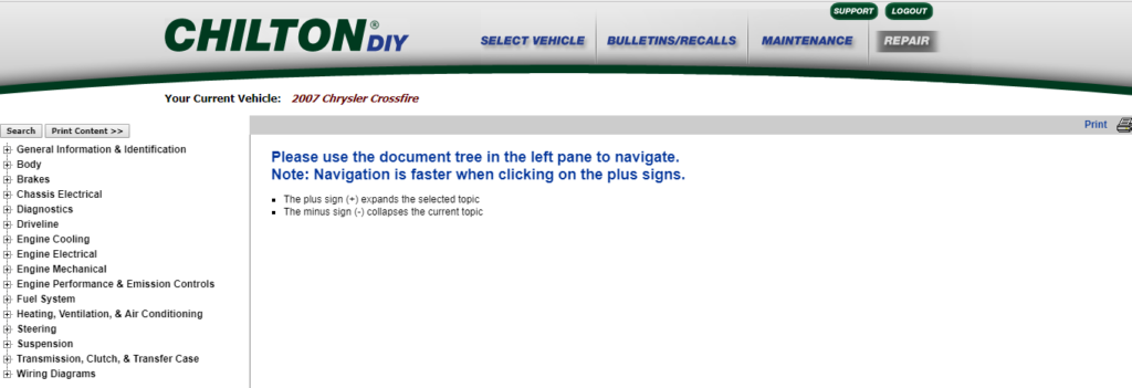chiltondiy online manual design