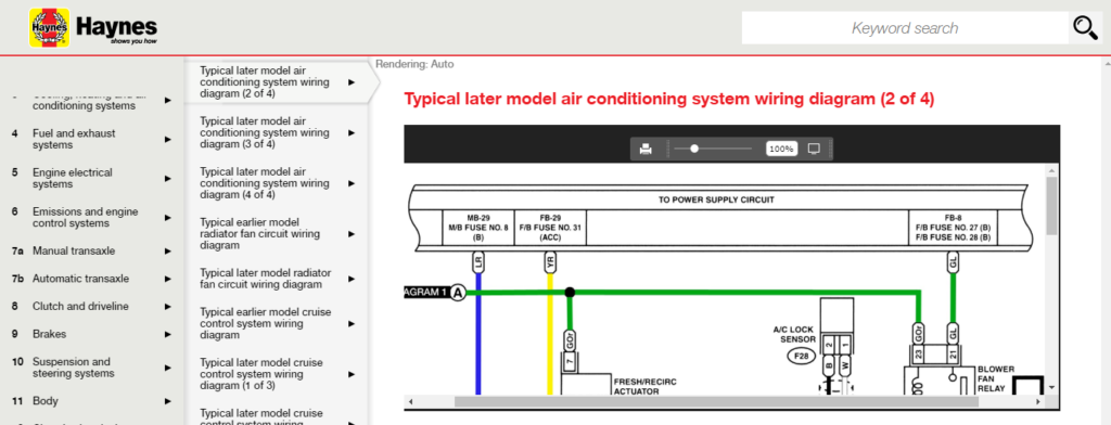 image of haynes online wiring diagrams not going full screen