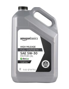 image of amazonbasics full synthetic oil 5 quart