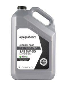 image of amazonbasics full synthetic oil 5 quart