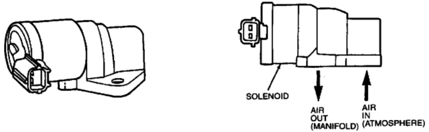 image of idle air control valve ford