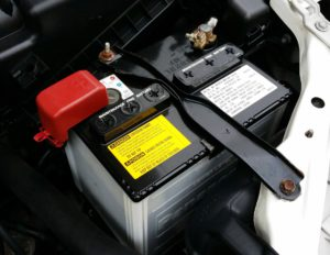 image of vehicle battery